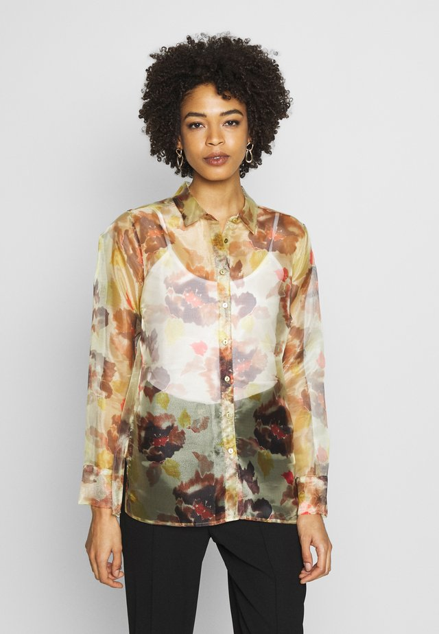 IMANIIW - Button-down blouse - watercolour