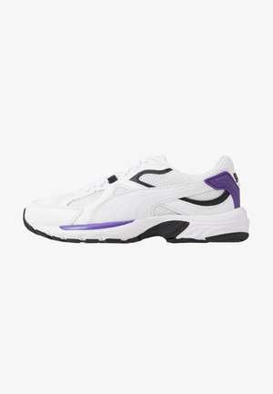 AXIS PLUS 90'S - Trainers - white/royal purple