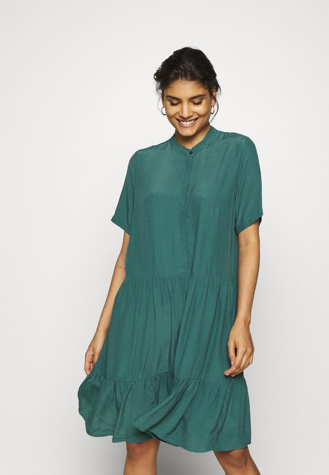 LECIA - Shirt dress - mallard green