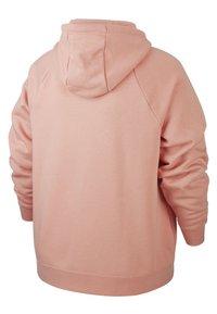Nike Sportswear - HOODY - Zip-up hoodie - pink quartz/white - 1