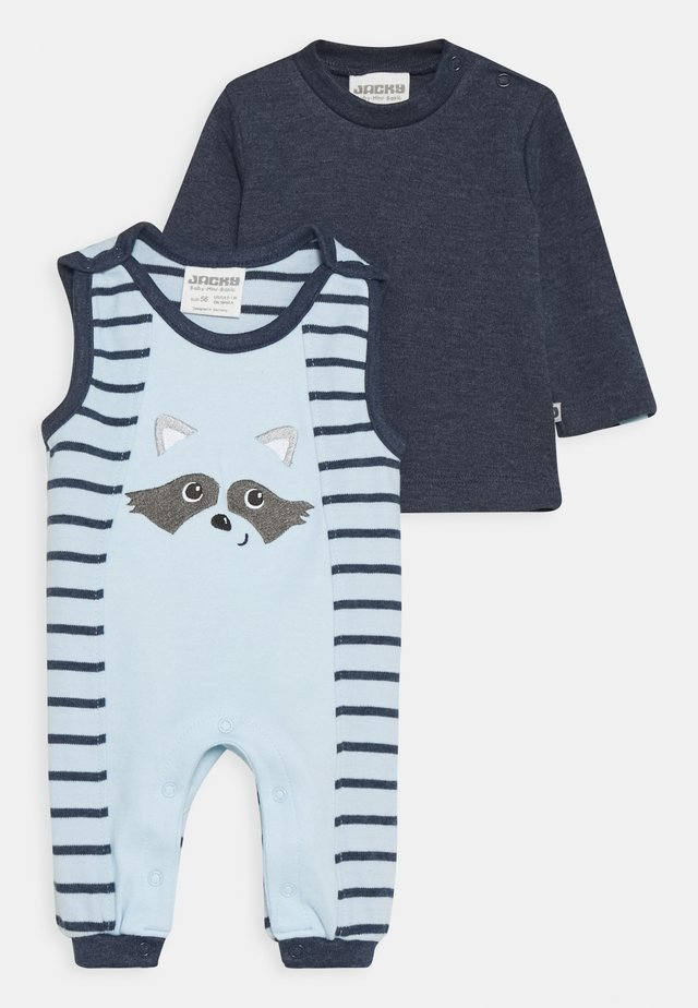 NATIVE RACCOON SET - Jumpsuit - blue