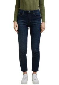 Esprit - Slim fit jeans - blue dark washed - 5