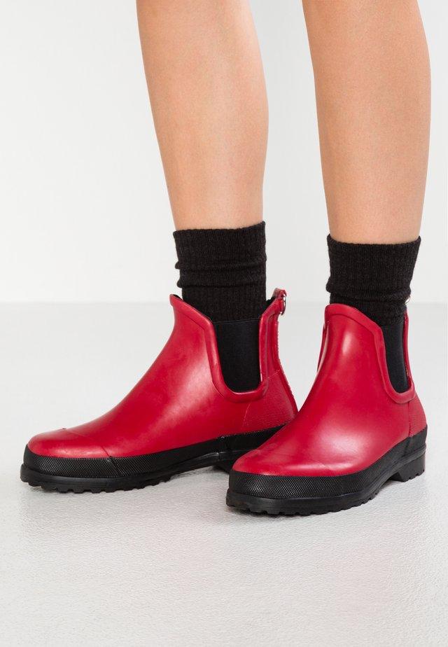 Stivali di gomma - deep red