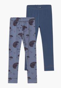 Walkiddy - 2 PACK - Leggings - Trousers - blue - 0