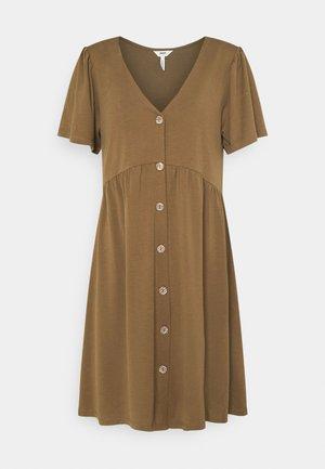 OBJWILMA DRESS - Day dress - sepia