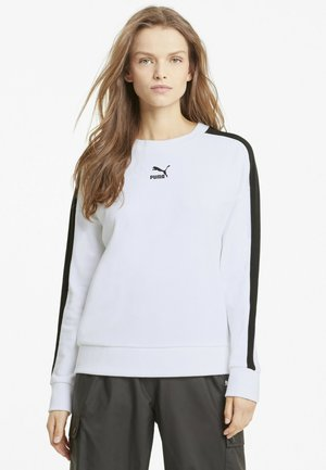 Sweatshirt - puma white