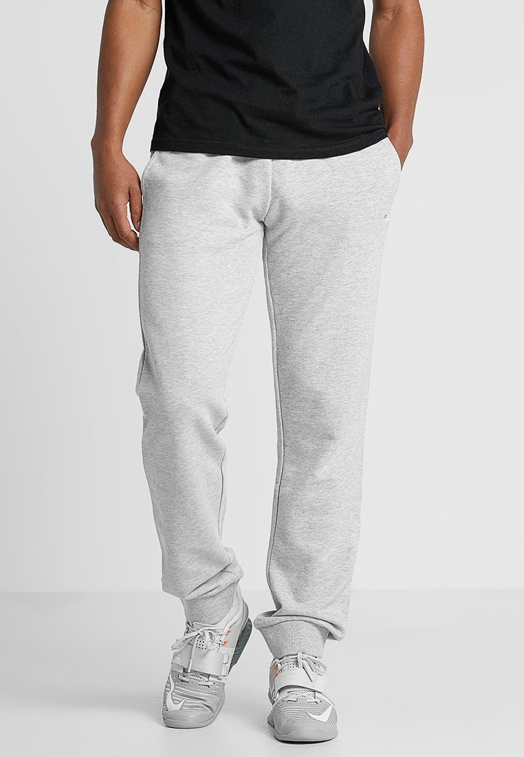 Fila - WILMET PANTS - Träningsbyxor - light grey melange
