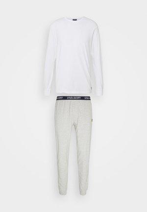 STANLEY SET - Pijama - bright white/grey