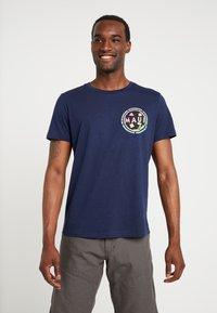 TOM TAILOR DENIM - T-shirt print - agate stone blue - 0
