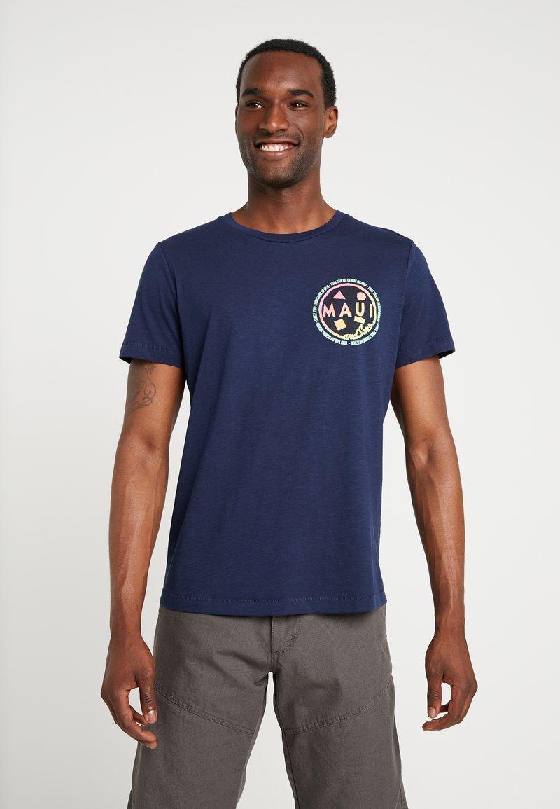 TOM TAILOR DENIM - T-shirt print - agate stone blue