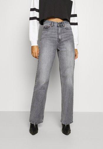 ECHO - Straight leg jeans - washed grey
