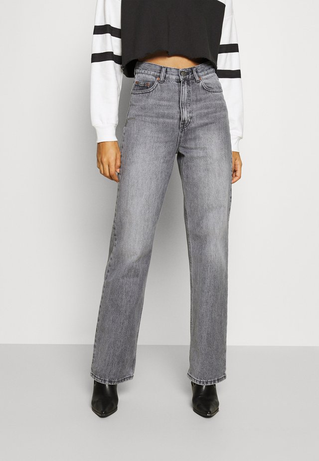 ECHO - Jeans straight leg - washed grey