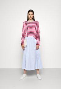 Marimekko - PITKÄHIHA  - Long sleeved top - white/red - 1