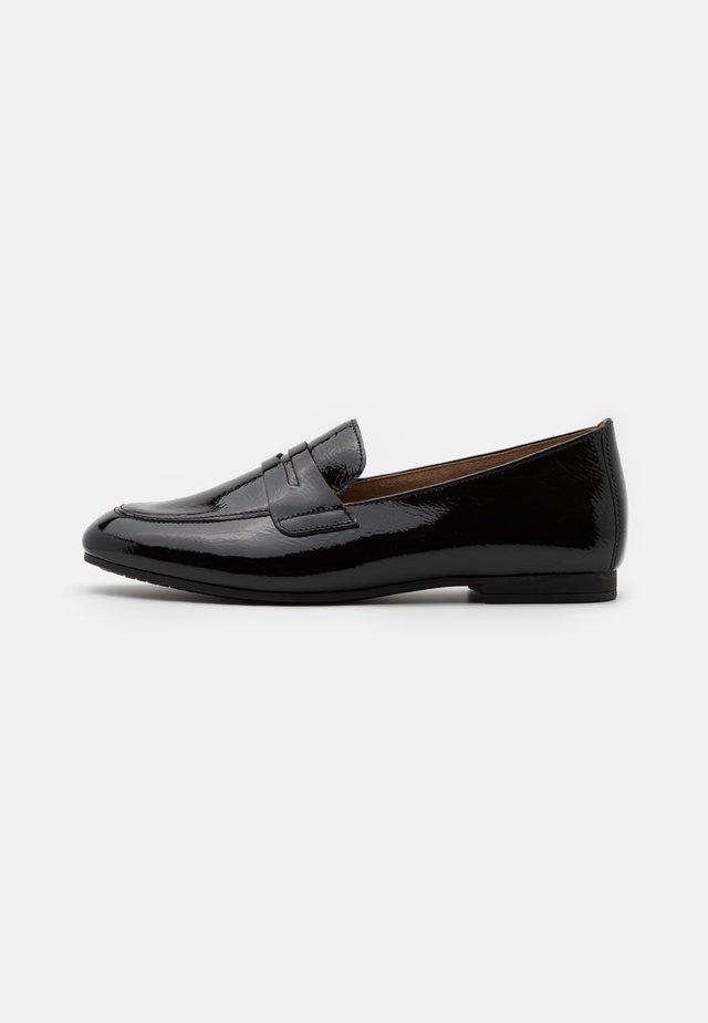 Loafers - schwarz