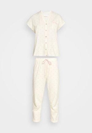TIGER - Pyjamas - pale yellow