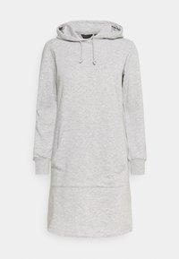 Dorothy Perkins - HOODY DRESS - Day dress - grey - 0