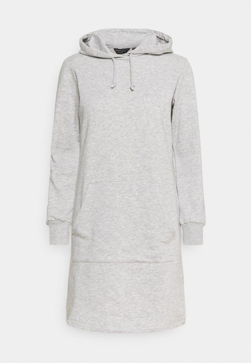 Dorothy Perkins - HOODY DRESS - Day dress - grey