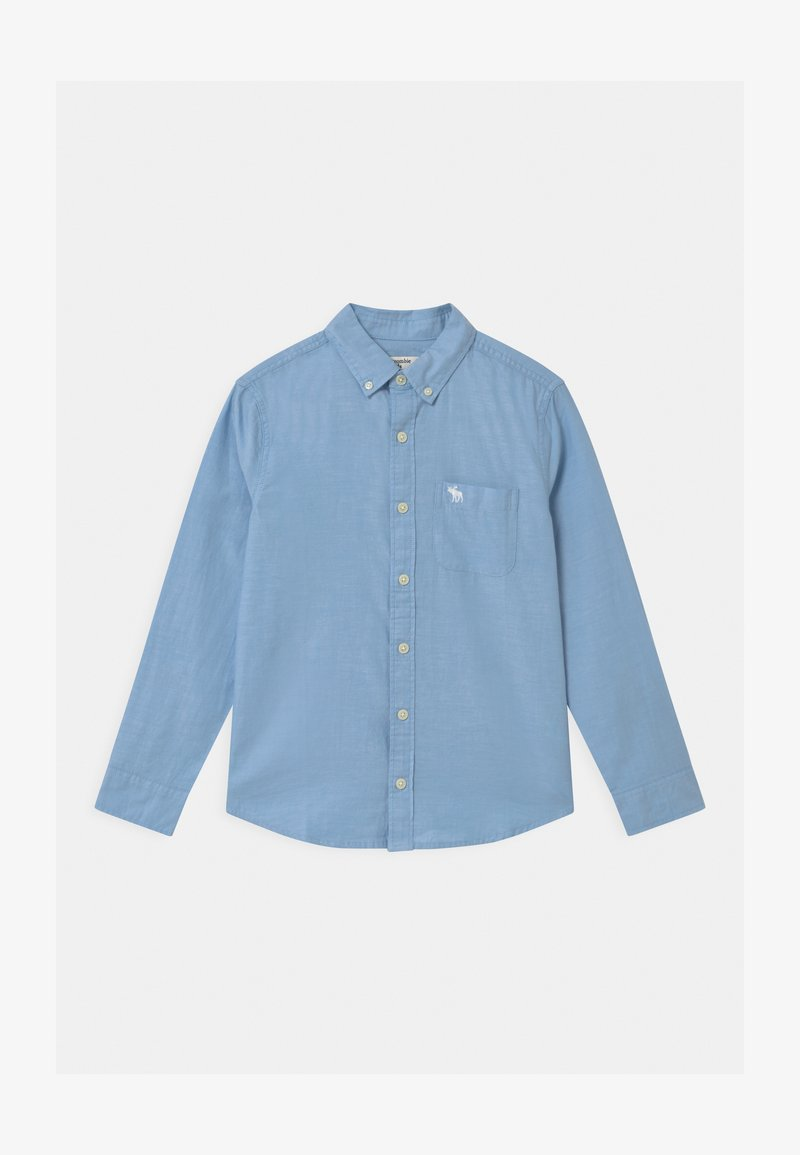 Abercrombie & Fitch - PREPPY - Shirt - solid blue