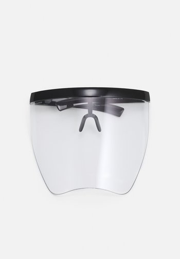 FRONT VISOR UNISEX - Other accessories - black/transparent