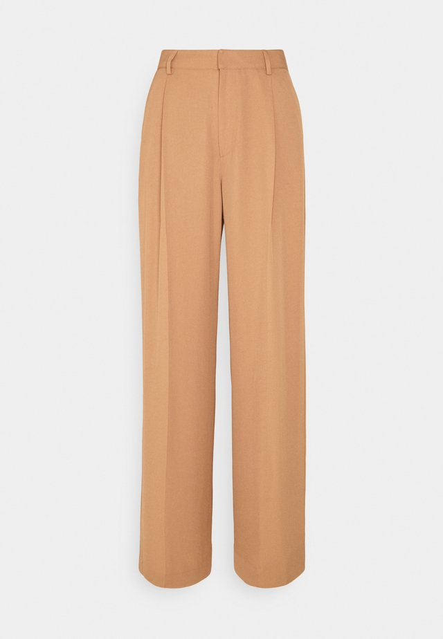 STACEY TROUSER - Kalhoty - copper