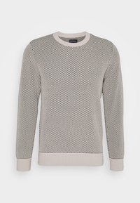 HONEYCOMB CREW - Pullover - oatmeal
