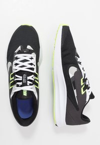 Nike Performance - DOWNSHIFTER  - Zapatillas de running estables - black/white/particle grey/dark smoke grey/ghost green/sapphire - 1