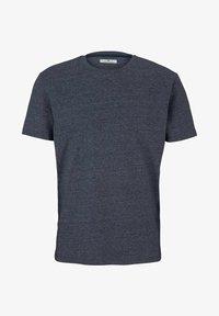 TOM TAILOR - Basic T-shirt - sailor blue grindle melange - 4