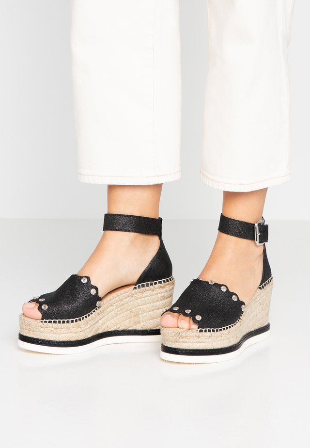 MALI - Sandaler med høye hæler - black