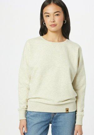 Sweater - weißmeliert