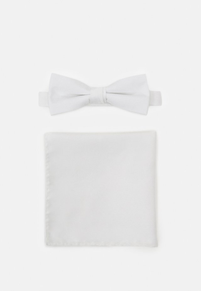 SLHNIGHT NEW BOWTIE SET - Kapesník do obleku - white