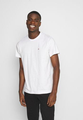 TJM CLASSIC JERSEY C NECK - T-shirt - bas - white
