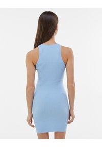 Bershka - Jumper dress - light blue - 2