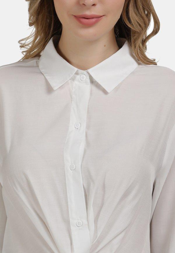 usha BLUSE - Koszula - weiss/biały WLAC