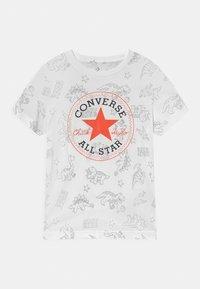 Converse - DINO TEE - T-shirt imprimé - white - 0