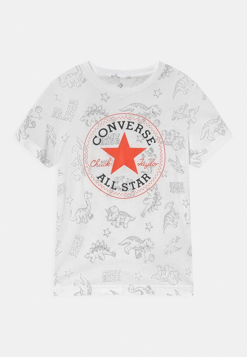 Converse - DINO TEE - T-shirt imprimé - white