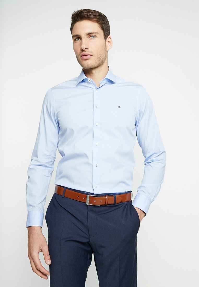 Tommy Hilfiger Tailored - POPLIN CLASSIC SLIM FIT - Kauluspaita - blue