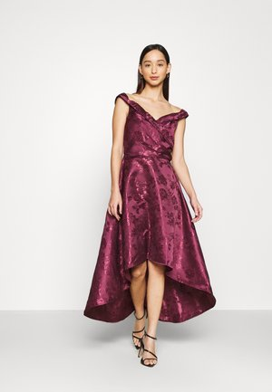 LIANA DRESS - Robe de soirée - berry