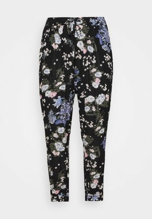 CECUDA AMI PANTS - Trousers - black multi