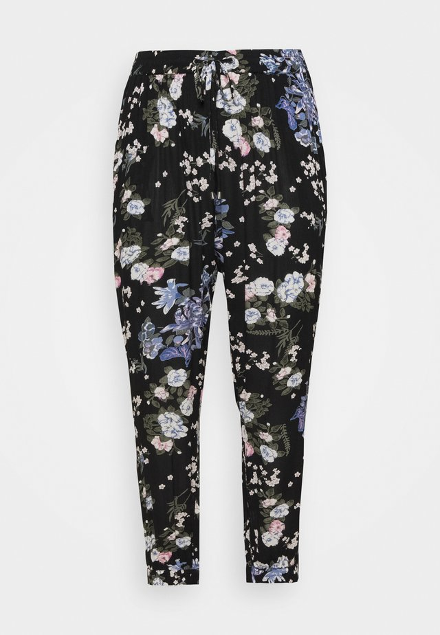 CECUDA AMI PANTS - Broek - black multi