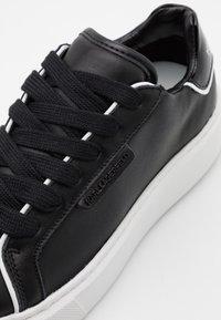 KARL LAGERFELD - MAXI KUP LACE - Sneakersy niskie - black - 6