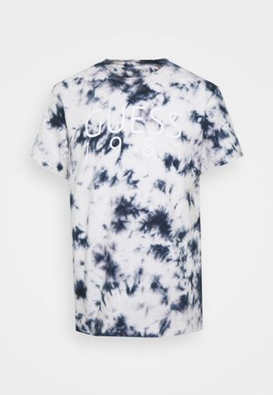 TEE - Print T-shirt - suiting blue