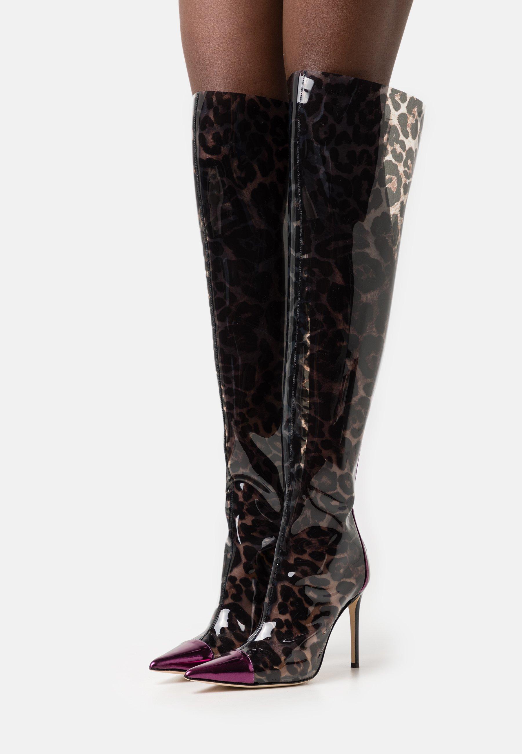 Damen BOOT - High Heel Stiefel - istinto vinile