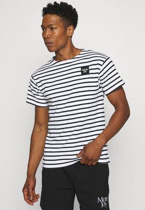 BRETON STRIPE UNISEX - T-shirt print - white/black