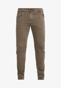 Replay - ANBASS HYPERFLEX - Jeans slim fit - brown