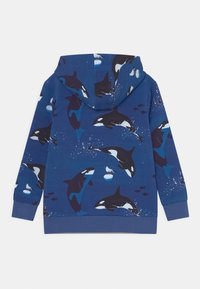 Walkiddy - PLAYFUL ORCAS UNISEX - Zip-up sweatshirt - dark blue - 1