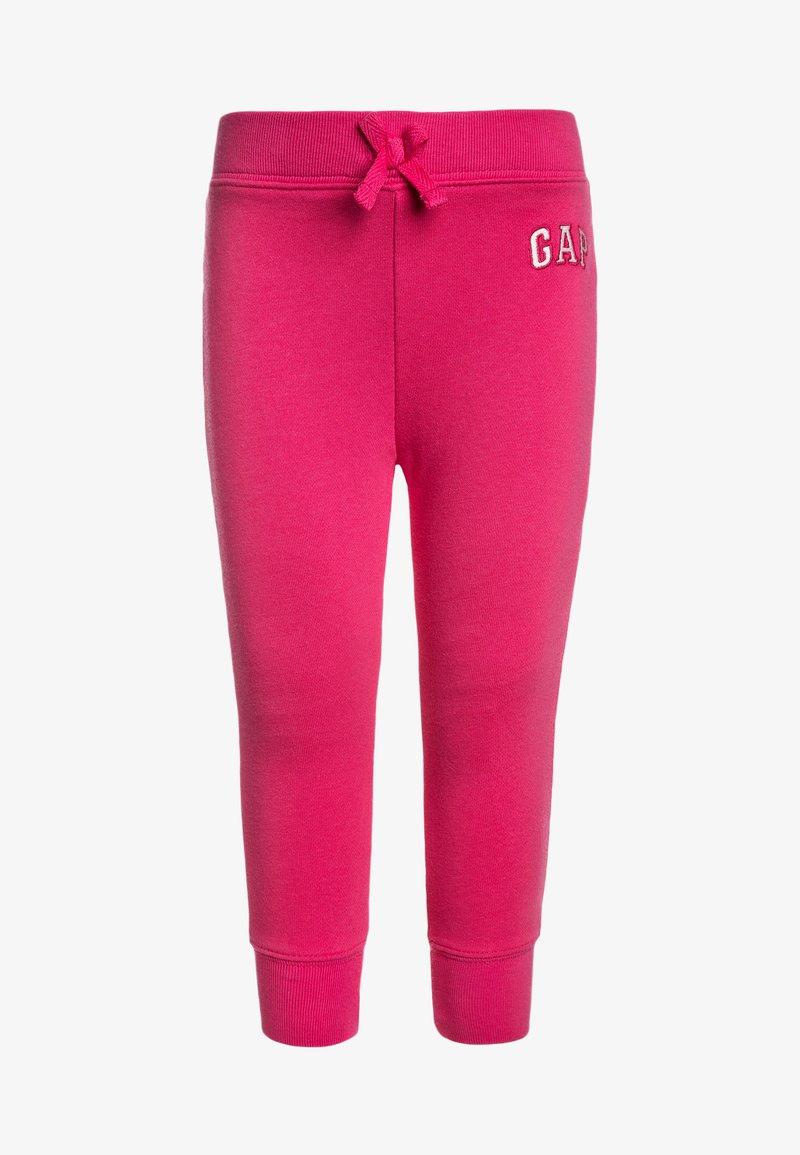 GAP - TODDLER GIRL LOGO  - Spodnie treningowe - shot of love