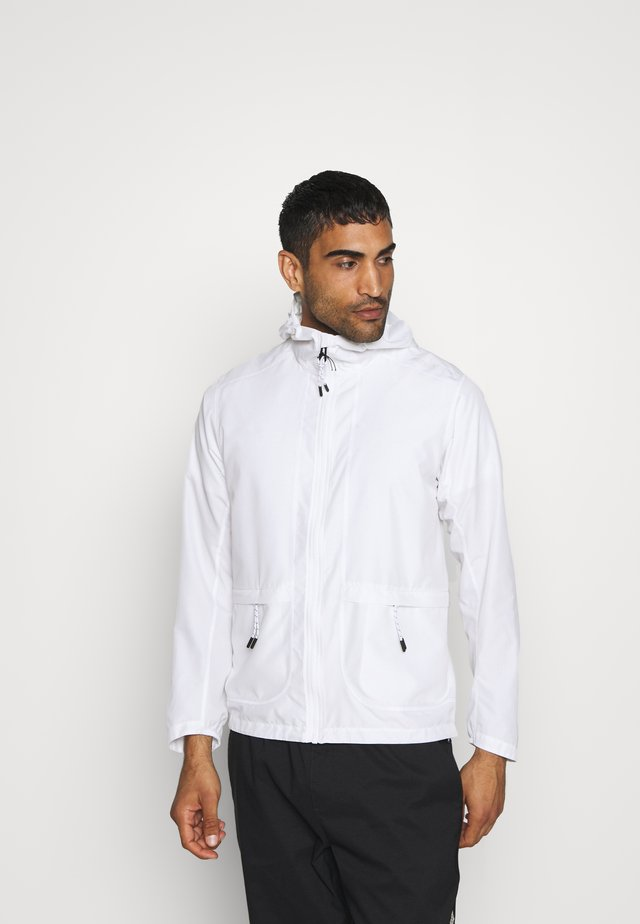OUTLIFE PACKABLE - Outdoorjas - white