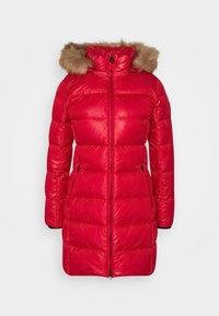 ESSENTIAL REAL COAT - Down coat - tango red