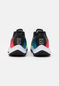 Nike Performance - COURT AIR ZOOM GP TURBO - Multicourt tennis shoes - white/solar red/hot lime/neo turquoise - 2