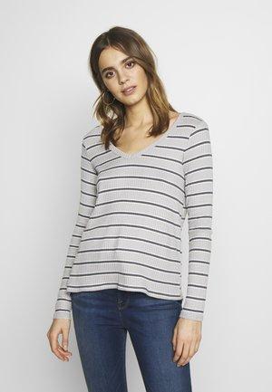 STRIPES - Maglietta a manica lunga - gray